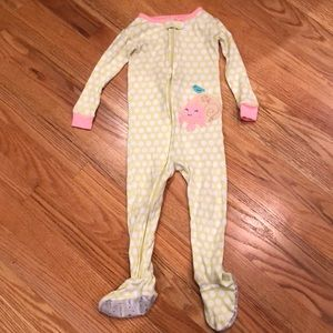 Carters 24 Month Pajamas with Feet!